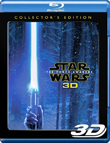 Star Wars: The Force Awakens 3D Blu-ray