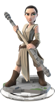 Star Wars: The Force Awakens Disney Infinity 3.0 Rey